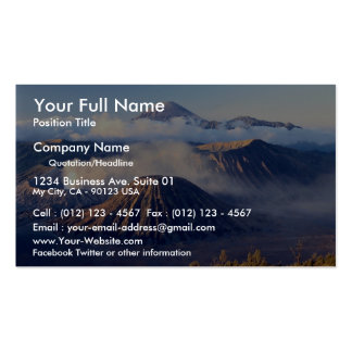 Sunrise at Mount Bromo, Java, Indonesia Pack Of Standard Business Cards