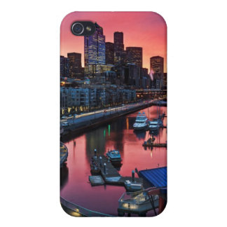 Sunrise at pier 66 looking down on bell harbor iPhone 4/4S cover