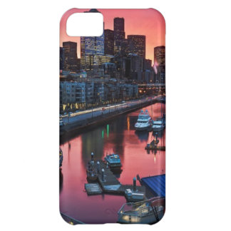 Sunrise at pier 66 looking down on bell harbor iPhone 5C case