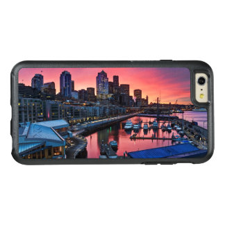 Sunrise at pier 66 looking down on bell harbor OtterBox iPhone 6/6s plus case