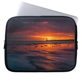 Sunrise at Roker Laptop Sleeve