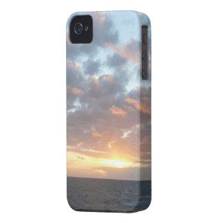 Sunrise at Sea I Pastel Seascape iPhone 4 Case