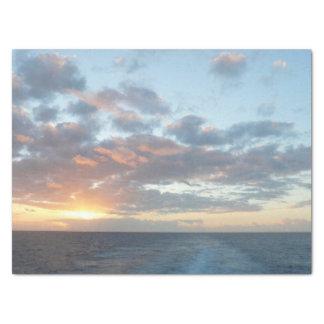 Sunrise at Sea I Tissue Paper