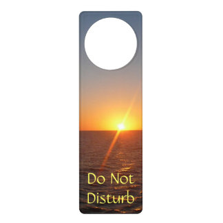 Sunrise at Sea III Ocean Horizon Seascape Door Knob Hangers