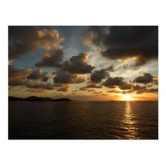 Sunrise at St. Thomas Postcard