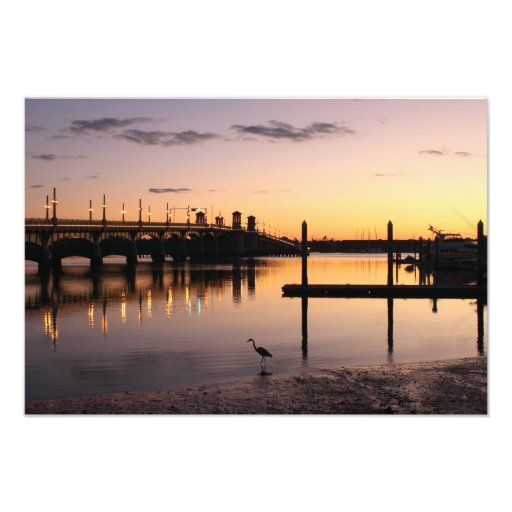 Sunrise at the Bridge of Lions Photo Art