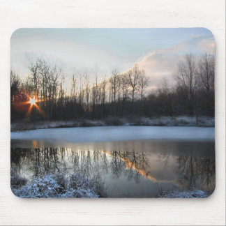 Sunrise at the Pond Mouse Pad