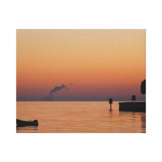 Sunrise at Vinoy Park Canvas Print