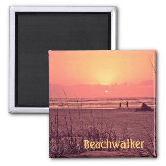 Sunrise Beachwalker Refrigerator Magnet