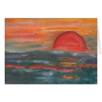 Sunrise Blank Card