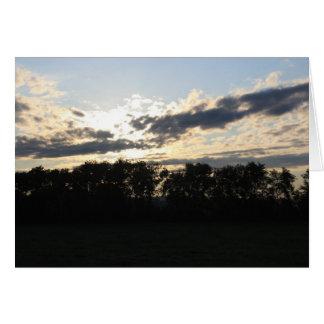 Sunrise Blank Note Card