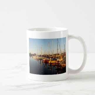 Sunrise Boats Basic White Mug