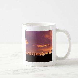 Sunrise Boreal Forest Alaska Mugs