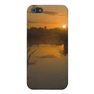 Sunrise by a lake cover for iPhone 5/5S