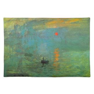 Sunrise by Claude Monet Placemat