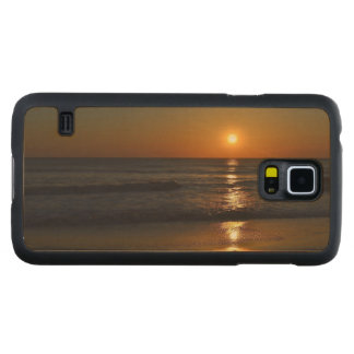 Sunrise Carved® Maple Galaxy S5 Case