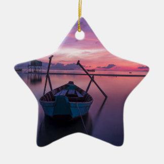 Sunrise Ceramic Star Decoration