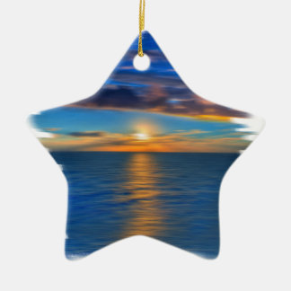 Sunrise Christmas Ornament