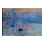 Sunrise - Claude Monet Poster