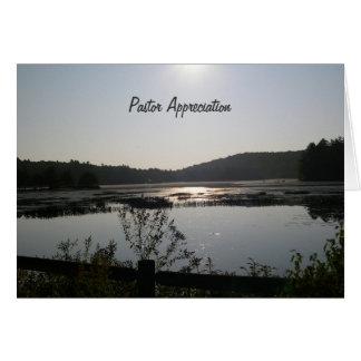 Sunrise Clergy Appreciation Greeting Card