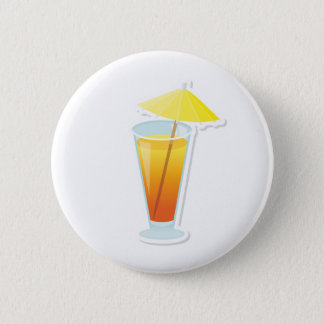 Sunrise Cocktail 6 Cm Round Badge
