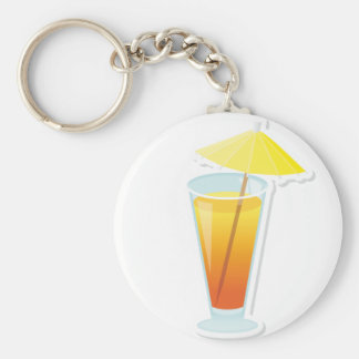 Sunrise Cocktail Keychain