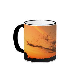 Sunrise - coffee cup coffee mugs
