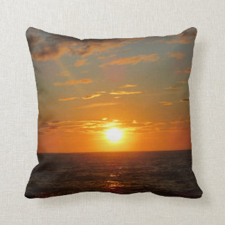 Sunrise Cushion Throw Pillow