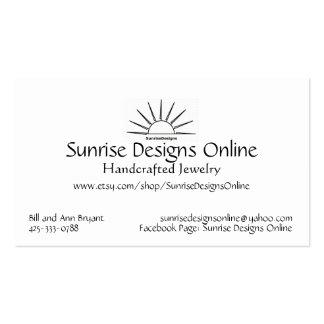Sunrise Designs Online Business Card - Caterina Lt