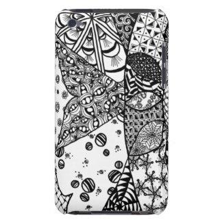 Sunrise Doodle Art iPod Touch Case