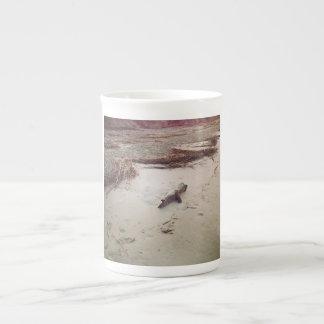 Sunrise driftwood on Sullivans Island Tea Cup