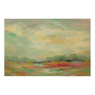 Sunrise Field Abstract Print   Silvia Vassileva