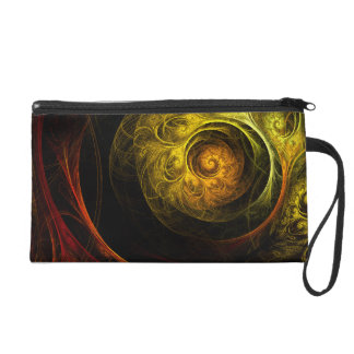 Sunrise Floral Red Abstract Art Bag