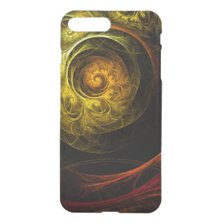 Sunrise Floral Red Abstract Art Deflector iPhone 8 Plus/7 Plus Case