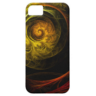 Sunrise Floral Red Abstract Art iPhone 5 iPhone 5 Cases
