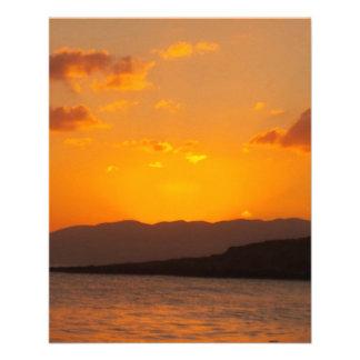 Sunrise Personalized Flyer