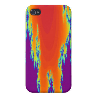 Sunrise Fractal  Case For The iPhone 4