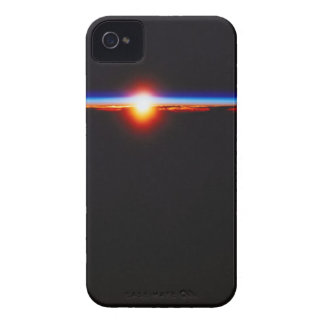 Sunrise from Space 3 iPhone 4 Cases