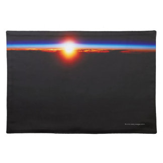 Sunrise from Space 3 Placemat