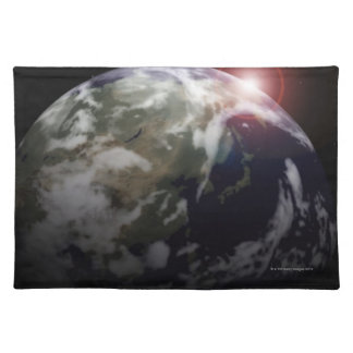 Sunrise from Space Placemat