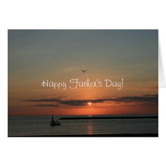 Sunrise Happy Father's Day Greeting Card