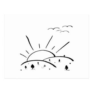 Sunrise Hills - nd Postcard