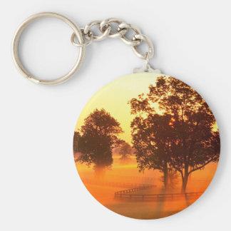 Sunrise Horse Farm Versailles Kentucky Keychains