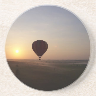 Sunrise Hot Air Balloon photographic image Beverage Coaster