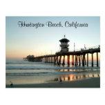 Sunrise Huntington Beach Pier California Post Card