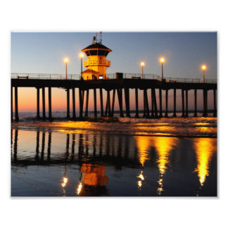Sunrise Huntington Beach Pier Photo