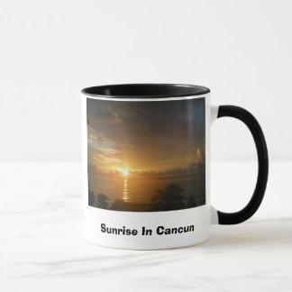 Sunrise In Cancun Mug