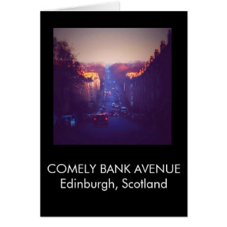Sunrise In Comely Bank Card