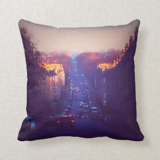 Sunrise In Comely Bank Cushion
