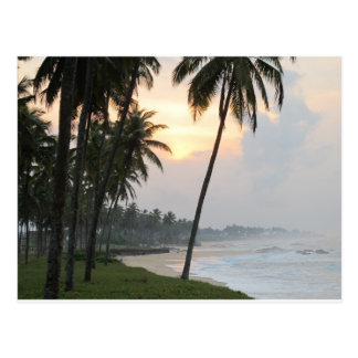 Sunrise in Elmina, Ghana Postcard